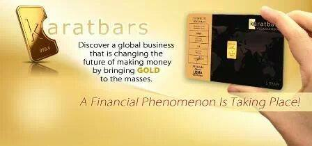 Create financial freedom with karatbars international the gold by the gram colourmoves